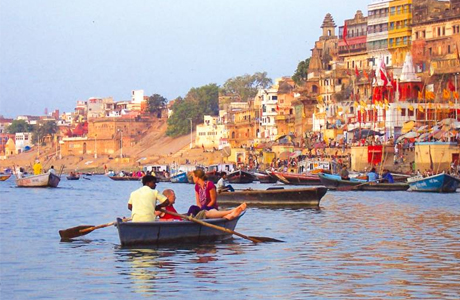 Boat Ride on river Ganga